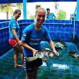 Anja S i Thailand